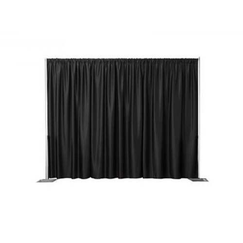 dallas at irving white once rental and black supplies drapes drape wedding party pipe